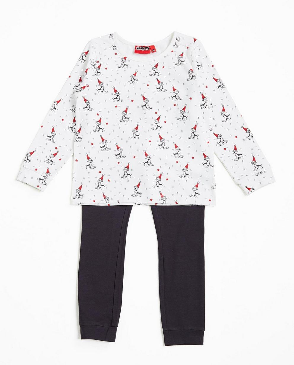 Pyjama met kerstprint - Samson - Samson
